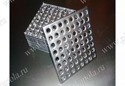 Промышленная металлическая плитка 64 анкера из нержавейки